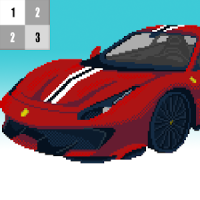 Car Color By Number