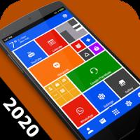 Win 10 metro launcher theme 2020 - home screen