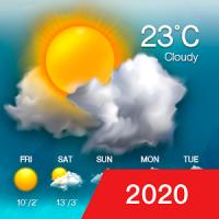 3Dライブ時計&天気ウィジェット(リアルタイム天気、無料)