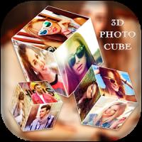3D Photo Cube Live Wallpaper