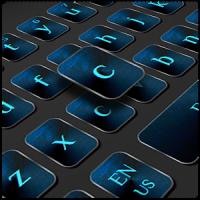Blue Metal Keyboard