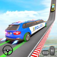 Police Limo Car Stunts GT Racing Police Car Games