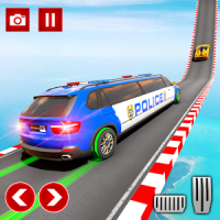 Police Limo Car Stunts GT Racing Police Car Games