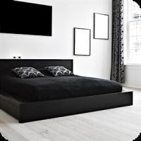 Black & White Bedroom Ideas