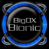 Bionic Launcher Theme Blue