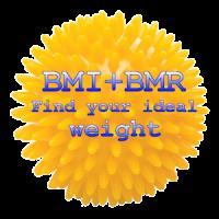 BMI + BMR diet calculator