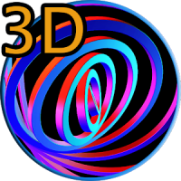 3D Hypnotic Spiral Rings FREE