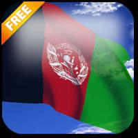 3D Afghanistan Flag LWP
