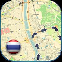Thailand Offline Karte Führe
