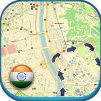 India Offline Map & Weather