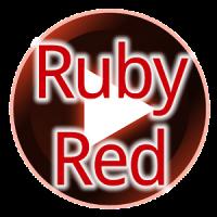 Poweramp Ruby Red Skin