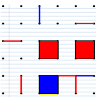 Dots and Boxes - Squares (Ad disable option)