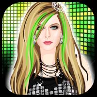 Avril Lavigne Dress up Spiel