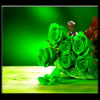 हरे रहते वॉलपेपर गुलाब