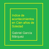 Indice Cien Años de Soledad