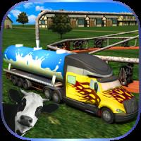 Milk Supply Truck Transporter