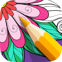 Color Therapy Pages - Flowers