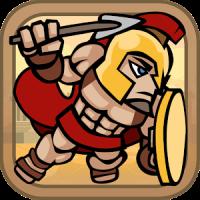 Brave Flying Spartan Soldiers