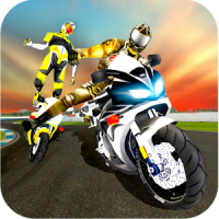 VR Highway Racing Stunt Rider -VR Bike Attack RacE