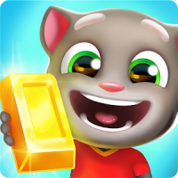 Talking Tom Gold Run 3D Game