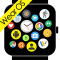 Bubble Cloud Tile Launcher Watchface (WearOS)