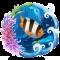 Vivid Clownfish Live Wallpaper