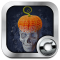3D Skull Solo Launcher Theme