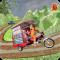 Drive Hill Chingchi Rickshaw: Offroad Driving