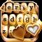 Gold Keyboard Themes