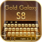 Gold Theme For Galaxy S8 Plus