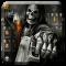 Badace Skull Guns Keyboard