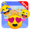 Emoji One Stickers for Chatting apps(Add Stickers)