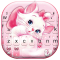 Girlish Kitty Wallpapers Keyboard Background