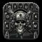 Horror Guns Skull Warrior Keyboard