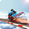 Impossible Stunts Bike Racing Games 2018: Sky Road