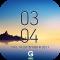 Galaxy Note8 Digital Clock Widget