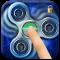 Fidget spinner fingerprint lock screen for prank