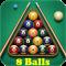Pool Billiards: 8 Balls