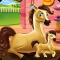 Pony and Newborn Baby Caring