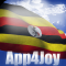 Uganda Flag Live Wallpaper