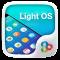 Light OS GO Launcher Theme