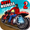 Moto Madness 2 -3D Racing Game