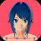Anime Girl Pose 3D