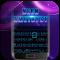 Black Neon 3D Keyboard Theme