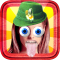 Funny Hat Stickers